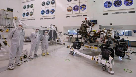 Neuer Nasa-Rover bald auf dem Weg zum roten Planeten