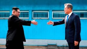 Kim Jong-un setzt auf regelmäßige Treffen mit Südkorea