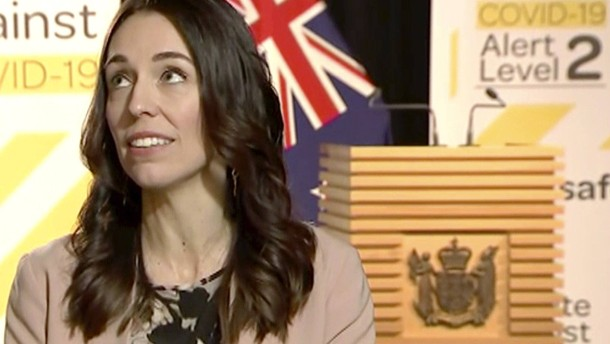 Erdbeben überrascht Neuseelands Regierungschefin