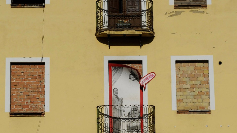 Straßenszene in Sevilla