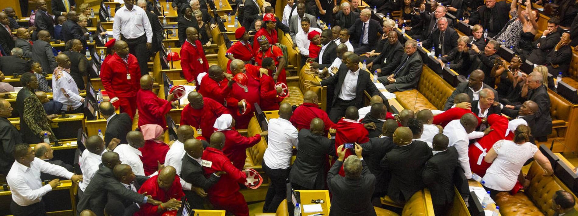 Faustrecht im Parlament