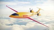 Das Elektroflugzeug Alice wird vom Hersteller Eviation mit Sitz im US-Bundesstaat Washington entwickelt und produziert.