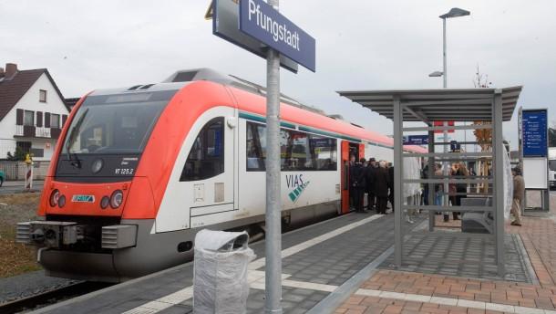 Keine zusätzlichen Züge für die Pfungstadt-Bahn