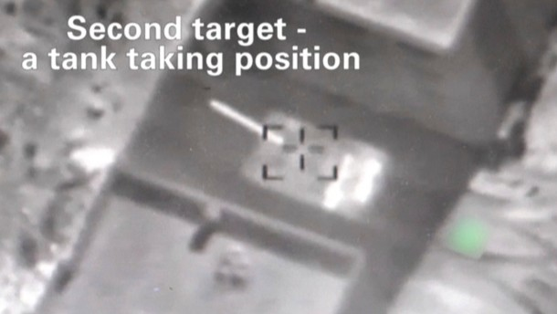Israel greift Ziele in Syrien an
