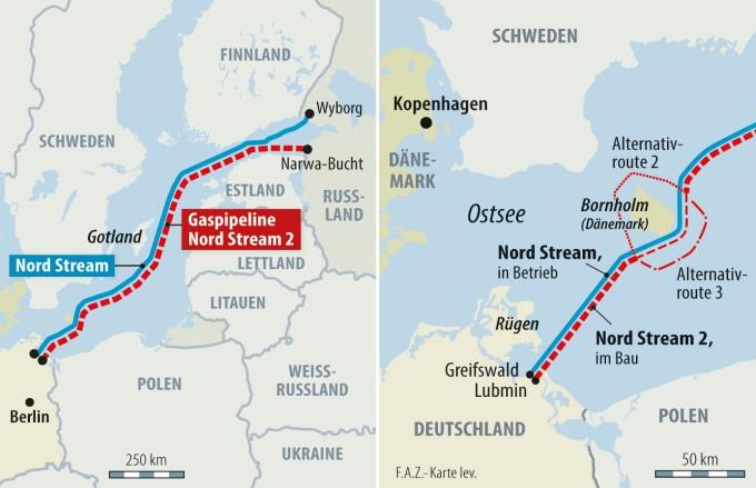 Dänemark: Nord Stream 2 darf fertig gebaut werden