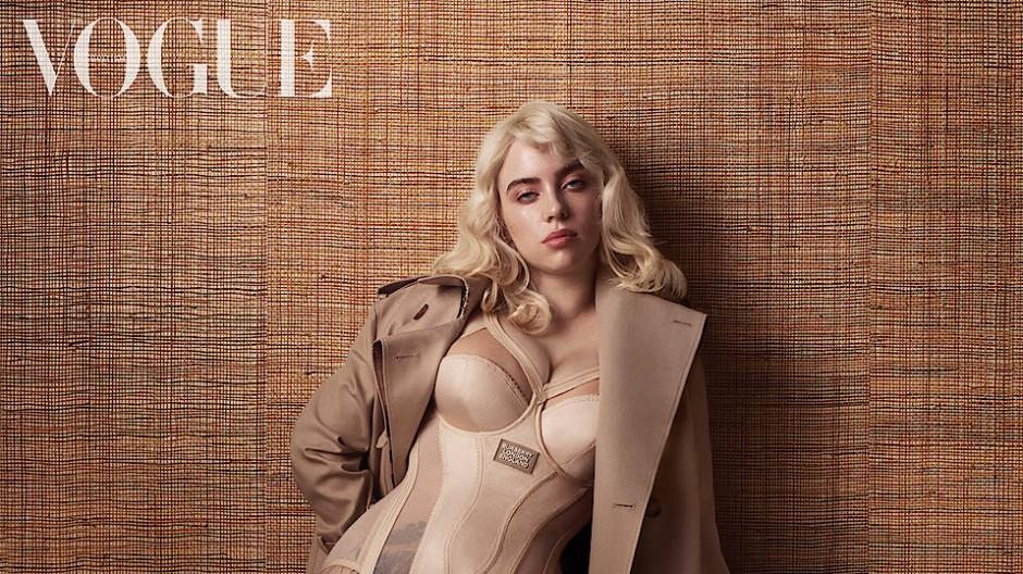 Billie Eilish in der britischen Vogue