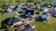 69 Prozent der Deutschen sind stolz auf ihr Zuhause.