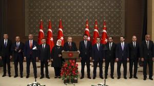 Das türkische Kabinett schrumpft