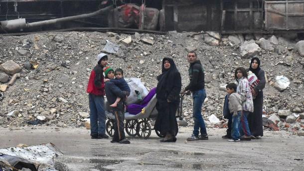"""Aleppo und der """"komplette Kollaps der Menschlichkeit"""""""