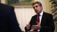 """Bulgariens Staatspräsident Rossen Plewneliew: """"Bulgarien ist nicht irgendeine 16. Sowjetrepublik"""""""