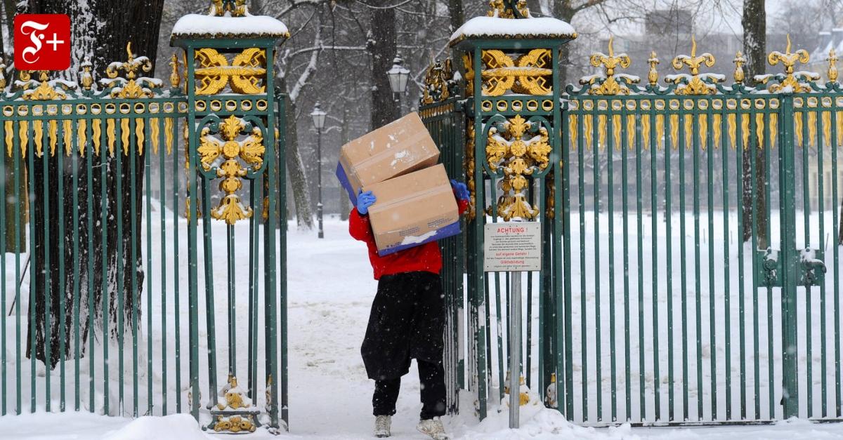 Smart-Home-Technik: Der Computer öffnet dem Postboten die Tür