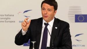 Italiens Regierungschef übersteht Vertrauensfrage