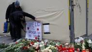 Am Morgen danach:Trauer in Berlin