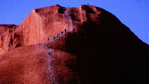Wie weit dürfen Touristen gehen?