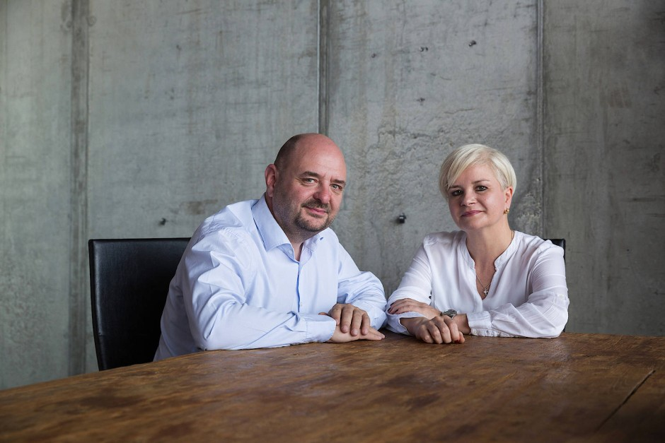 Die Macher: Bernd Breiter und seine Frau Carina veranstalten und organisieren den World Club Dome im Frankfurter Stadion.