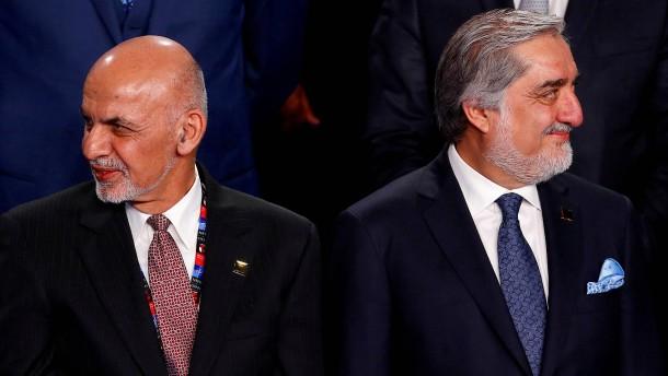 Ghani und Abdullah wollen sich zum Präsidenten vereidigen lassen
