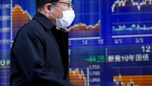 Stimmung an asiatischen Börsen gedrückt