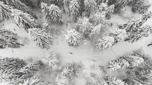 Am Wochenende schneit's