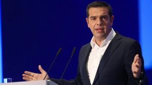 Tsipras verspricht Griechen wieder steigenden Lebensstandard