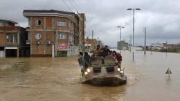 Tote bei Hochwasser in Iran