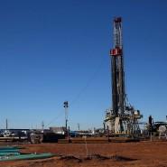 Fracking-Anlage am Rand der Ölstadt Midland in Texas: Amerika hat seine CO2-Emissionen weiter gesenkt.
