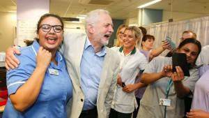 Die wundersame Wandlung des Jeremy Corbyn