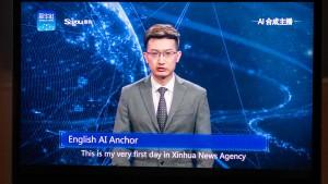 In China lesen jetzt Roboter die Nachrichten