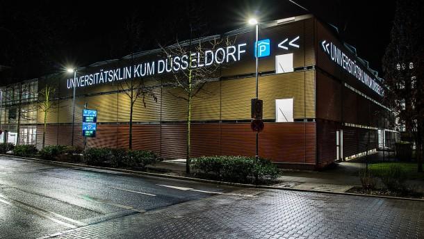 Patient aus Nordrhein-Westfalen in kritischem Zustand