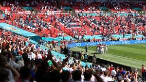 40.000 Fans dürfen EM-Finale im Wembley-Stadion sehen