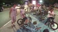 BMX-Fahrer erobern die Straßen