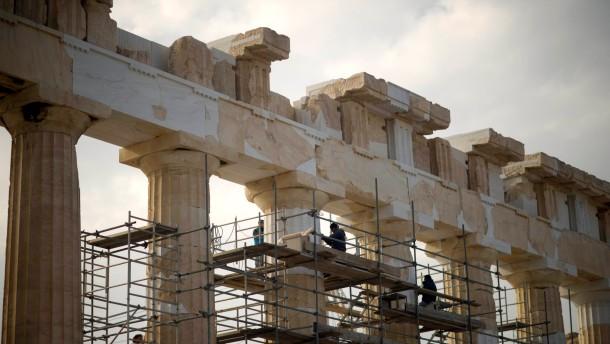 Harter Weg fuer Griechenland