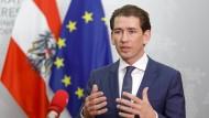Kurz verlangt mehr Entschlossenheit der EU
