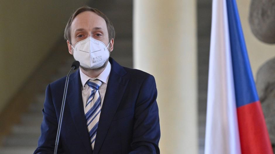 Noch nicht lange im Amt, aber direkt in einer schweren diplomatischen Krise: Jakub Kulhanek, Tschechiens neuer Außenminister