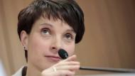 Die Bundestagswahl fest im Blick: AfD-Chefin Frauke Petry