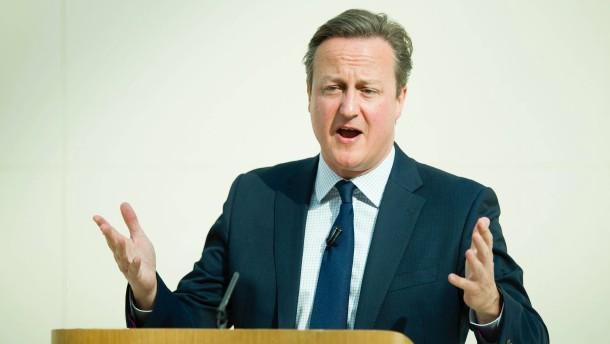 Cameron: EU unverzichtbar für Sicherheit Großbritanniens
