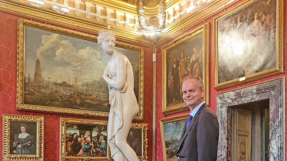 Eike Schmidt, Direktor der Uffizien