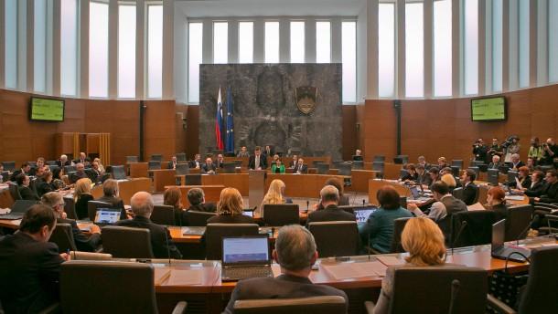 Slowenien läuft die Zeit davon
