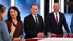 Linke, Grüne und SPD wollen Minderheitsregierung in Thüringen