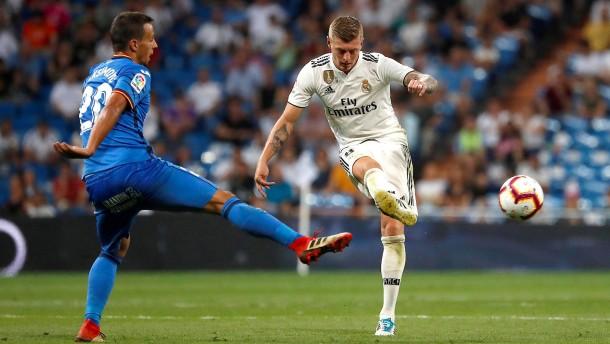 Real gewinnt ohne Ronaldo souverän