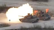 Amerika und Südkorea demonstrieren Stärke