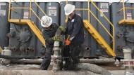 Die amerikanische Ölproduktion drückt auf den Ölpreis.