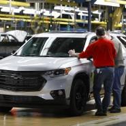 Auch die General Motors-Produktion in Lansing Delta, Michigan, ist vorerst ausgesetzt.