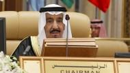 Der saudische König, Salman ibn Abd al-Aziz