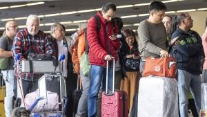Drohne legt Frankfurter Flughafen lahm