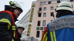 Bewohnerin nach tödlichem Hausbrand festgenommen