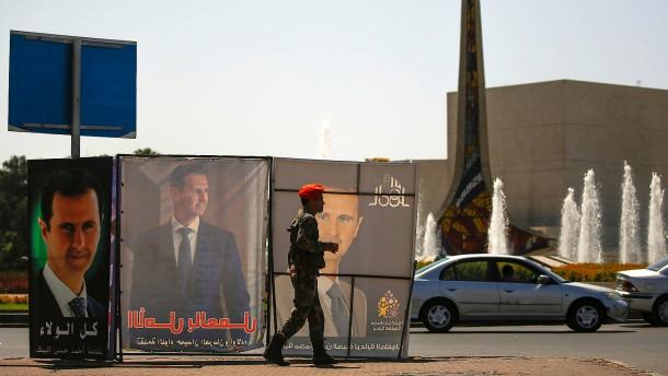 Assad auf dem Weg zur nächsten Amtszeit