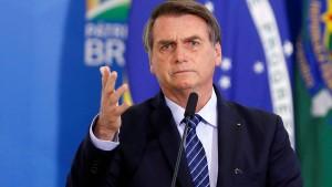 """Bolsonaro lobt """"produktives Gespräch"""" mit Merkel"""