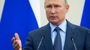 Putin: Sanktionspolitik der Amerikaner hat keine Zukunft