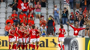 Schweiz erzielt ersten EM-Sieg