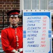 Die Briten lieben das Wetten: 2013 konnten Sie auf potentielle Namen des ersten Kindes von Prinz William und Kate setzen.